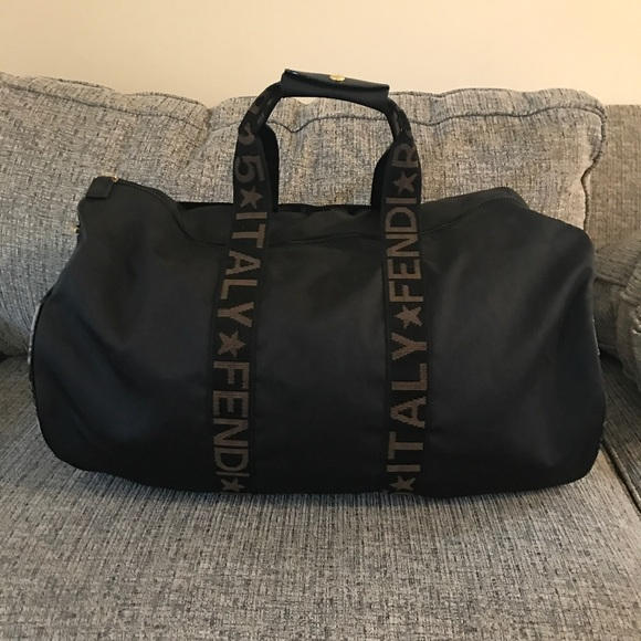 66671eb9f43 Fendi Bags   Authentic Nylon Travel Bag Gym Bag   Poshmark